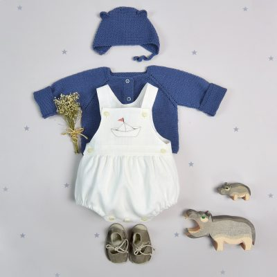 Dungarees body suit + boat design