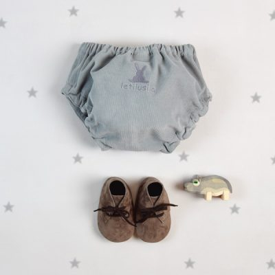 Grey  corduroy  knickers
